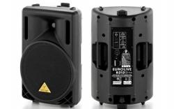 Coluna amplificada Behringer B212D BK Eurolive - 550-1.100W - 12 polegadas - classe D - preto