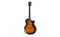 Guitarra Semi-Acustica Ibanez AEG10II-VS - aco - vintage sunburst