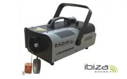 Maquina de Fumo Ibiza LSM900W - 900W - analogica - comando a distancia