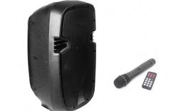 Coluna amplificada Ibiza HYBRID8VHF-BT - 300-400W - 8 polegadas - 1 Micro + USB + SD Cards + Bluetooth - a bateria/s
