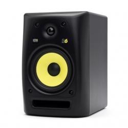 Monitor passivo KRK R6 G3 - 100-400W - 2 vias - 6 polegadas