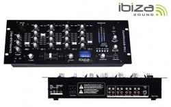 Mesa de Mistura Ibiza DJM95USB-REC - 4-6 vias - USB + MP3 + REC