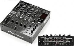 Mesa de Mistura Pioneer DJM-850 K - 4-8 vias - USB + MIDI + 1 Digital