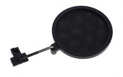 Pop Filter XBS PS-2 Mini - 8 cm de diametro - proteccao para gravacao ou vento (wind screen)