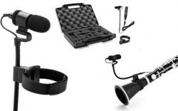 Pack de Microfone T.Bone Ovid System CC 100 + Alca + Cabo + Adaptador + Caixa