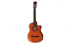 Guitarra Semi-Acustica Harley Benton CG300CE NT - 4/4 - nylon - natural