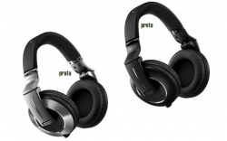 Headphones Pioneer HDJ-2000MK2-K/S - DJ - rotativos - preto e prata