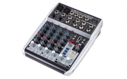 Mesa de Mistura Behringer Xenyx QX602MP3 - 6 vias - Efeitos + USB + MP3