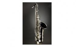 Saxofone Tenor Monzani MZTS-333BN Bb - preto niquelado