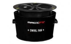 Maquina de Confettis MagicFX Swirl Fan - capacidade 1Kg - DMX