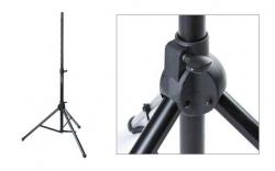 Tripe de Coluna - 35mm - standard - aluminio - preto - elevador pneumatico - Music Store Box-10