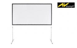 Tela de Projeccao AV Stumpfl Vario 32 Aufpro - 3,20x2,45m - 4:3 (fast fold) + Estrutura + Mala