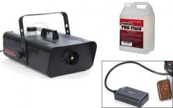 Maquina de Fumo LightmaXX Pro Fog 1.5 - 1.400W - DMX - comando a distancia + 5L Liquido