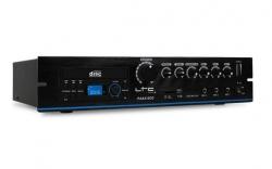 Amplificador LTC PAA210CD - 280-420W - CD + DVD + USB + MP3 + SD Cards - Linha 100V