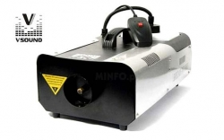 Maquina de Fumo VSound VSFUMOS4C - 1.500W - analogica - comando a distancia