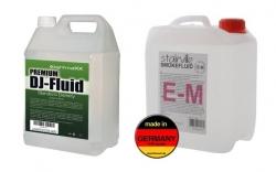 Liquido para Maquinas de Fumo - premium E-M fog type - LightmaXX, Stairville, Ibiza ou outra marca - 5L