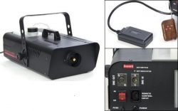 Maquina de Fumo LightmaXX Pro Fog 1.5 - 1.400W - DMX - comando a distancia