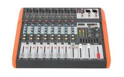 Mesa de Mistura Ibiza MX802 - 8 vias - Efeitos + USB + MP3 + Bluetooth + Equalizacao geral
