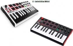 Teclado Akai MPK Mini MK2/LE White - USB + MIDI