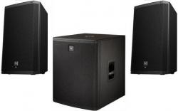 3 Colunas Electro-Voice - Subgrave ELX 118 + 2 Colunas ZLX 12 - 3.600W