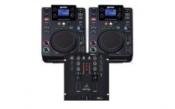 Pack para DJ 2 - 2 Leitores Gemini CDJ-300 + Mesa Behringer NOX101 + Cabos