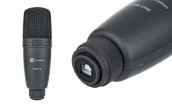 Microfone para Voz Fun Generation USB One - USB - condensador