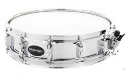 Tarola Millenium 14x3,5 Piccolo Steel Snare - 14x3,5 polegadas - aco - prateado
