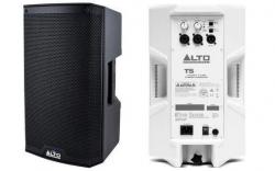 Monitor-Coluna amplificada Alto TS208 Truesonic - 1.100W - 8 polegadas - classe D - biamplificacao - preto ou branco