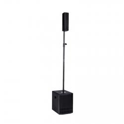 P.A. amplificado DB Technologies ES602 - Subgrave + 4 Tops - 800W - DSP - classe D - Linear