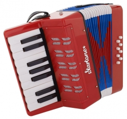 Acordeon Startone Helene Kids Accordion Red - de teclas - vermelho - junior - para criancas