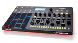 Controlador DAW Akai MPD 232 - USB + MIDI - 64 canais - MAC/PC