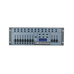 Mesa Controladora de Luzes Showtec Led Commander - 16-128 canais - DMX