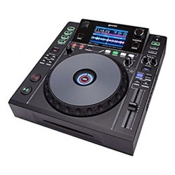 Leitor single Gemini MDJ-1000 - CD-R + USB + MP3 + AAC + AIFF + WAV + MIDI