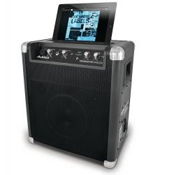 Coluna amplificada Alesis Transactive Wireless - 50-100W - 8 polegadas - USB+iPod+Bluetooth - a bateria/s