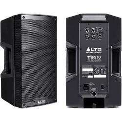 Monitor-Coluna amplificada Alto TS210 Truesonic - 1.100W - 10 polegadas - classe D - biamplificacao