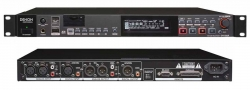 Gravador Digital Denon DN-500R - USB + MP3 + SD Cards + SD-HC + AAC + AIFF + WAV + Digital + RS-232C + Parallel - de Rack