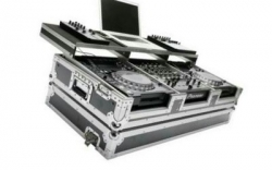 Flightcase Magma CDJ-Workstation 2000 900 Nexus (para 2 Pioneer CDJ-2000 Nexus + 1 Pioneer DJM-900 Nexus + PC)