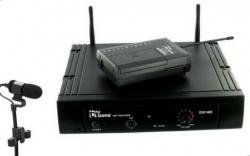 Micro sem fio + Receptor T.Bone TWS 863 Ovid Sax Bundle - UHF - de clip e flexivel