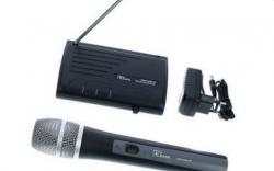 Micro sem fio de mao + Receptor T.Bone TWS One A/B/C/D Vocal - UHF