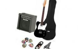 Pack de Guitarra Harley Benton TE-20 Set1 - Guitarra + Amplificador + Saco + Cabo + Alca + Palhetas