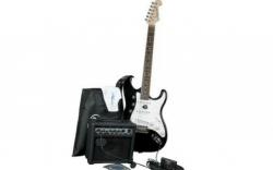 Pack de Guitarra Jack and Danny ST - Guitarra + Amplificador + Saco + Cabo + Alca + Afinador + Palhetas + Cordas + Pano