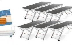 Pack de Palco Stairville Stage Bundle 6xUnistage - 6 Estruturas (2x1m) + Carro + Escada