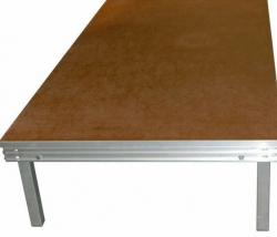 Plataforma de Palco Millenium Stage Platform - IDL (2x1m) - para interiores