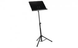 Stand de Partituras Thomann Orchestra Stand Premium - com tabuleiro rigido (preto)