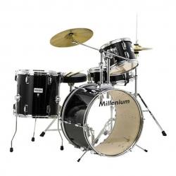 Bateria Acustica completa Millenium MX120 Starter Drumset - preto