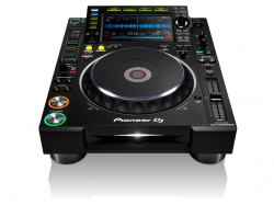 Leitor single Pioneer CDJ-2000 NXS2 Nexus 2 - CD-R/RW + USB + MP3 + AAC + AIFF + WAV + MIDI - preto