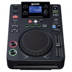 Leitor single Gemini CDJ-300 - CD-R + USB + MP3