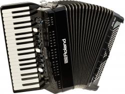 Acordeon Roland FR-4X BK Black - de teclas - digital - USB - preto