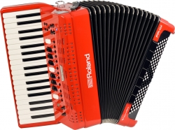 Acordeon Roland FR-4X Red - de teclas - digital - USB - vermelho