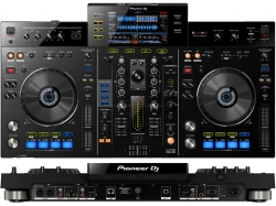Controlador duplo Pioneer XDJ-RX - USB + MP3 + AAC + AIFF + WAV + MIDI + Record